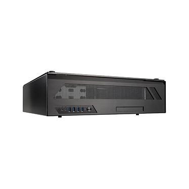 Lian Li PC-O6SX Boîtier Desktop HTPC en aluminium et verre trempé (coloris noir)