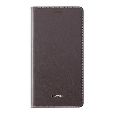 Huawei Flip Case Marron P8 Lite Etui folio pour Huawei P8 Lite