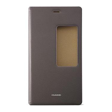 Huawei View Flip Case Marron Huawei P8 Etui folio pour Huawei P8