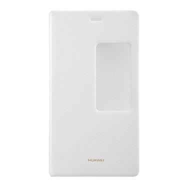 Huawei View Flip Case Blanc Huawei P8 Etui folio pour Huawei P8