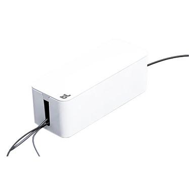 BlueLounge CableBox Blanc Boîte de rangement et de dissimulation des câbles