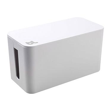 BlueLounge CableBox Mini Blanc Boîte de rangement et de dissimulation des câbles