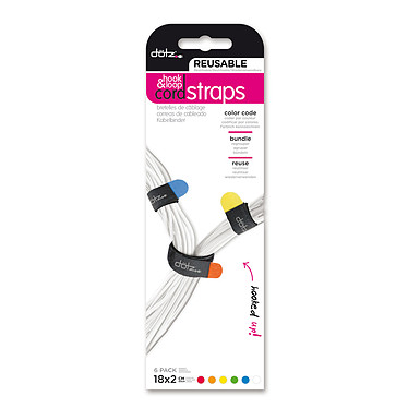 Avis Dotz Hook & Loop Cord Straps