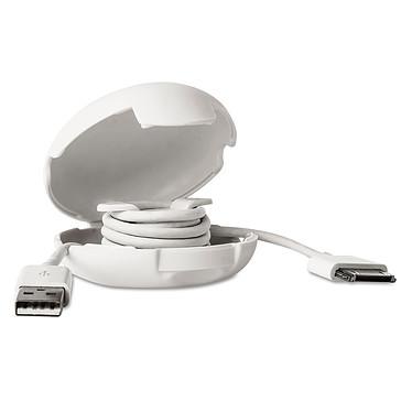 Dotz Cord Case Blanc Étui de rangement pour câble