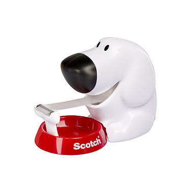 SCOTCH Dévidoir Dog + 1 rouleau Magic 19mm x 7.5m