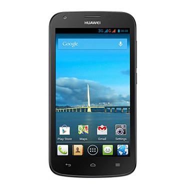 "Huawei Ascend Y600 Noir Smartphone 3G+ - ARM Cortex-A7 Dual-Core 1.3 GHz - RAM 512 Mo - Ecran tactile 5"" 480 x 854 - 4 Go - Bluetooth 3.0 - 2100 mAh - Android 4.2"
