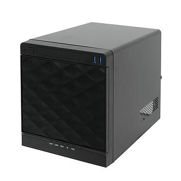 LDLC Server Evolutivity SXM-F Intel Atom C2550 (2.4 GHz) 8 Go DDR3 ECC HDD 4 To (2x 2 To) Graveur DVD Alimentation 265W Windows Server 2012 R2 Foundation 64 bits (Boîtier Mini Tour - monté)