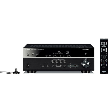 Yamaha MusicCast RX-V479 Noir Ampli-tuner Home Cinéma 5.1 3D-Ready avec HDMI 1.4, HDCP 2.2, Ultra HD 4K, Wi-Fi, Bluetooth, DLNA, AirPlay et MusicCast