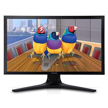 """ViewSonic 27"""" LED - VP2780-4K 3840 x 2160 pixels - 5 ms (gris à gris) - Format large 16/9 - Dalle IPS - 4K - Pivot - HDMI - DisplayPort - Hub USB 3.0 - Noir (garantie constructeur 3 ans)"""