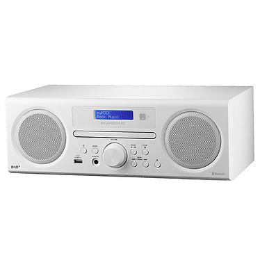 Scansonic DA310 Blanc Radio FM/ DAB+ avec connexion Bluetooth