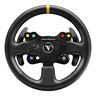 Thrustmaster TM Leather 28 GT Wheel Add-on Volant de remplacement (compatible T300 RS / T300 Ferrari GTE / T500 RS / Ferrari F1 Integral T500 / TX Racing Wheel Ferrari 458 Italia)