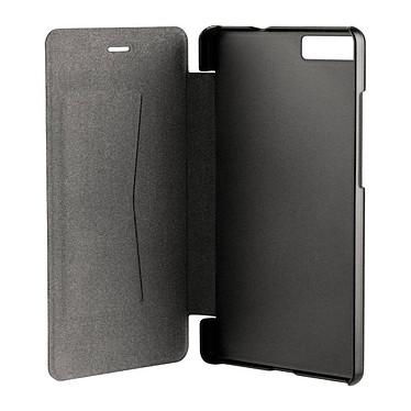 xqisit Etui Folio Rana Noir Huawei P8 Lite Etui folio pour Huawei P8 Lite 2015