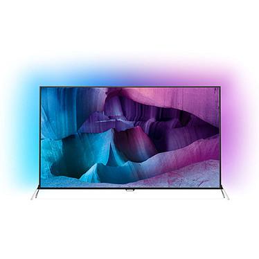 """Philips 55PUS7600 Téléviseur LED 4K 3D 55"""" (140 cm) 16/9 - 3840 x 2160 pixels - TNT, Câble et Satellite HD - Wi-Fi - Android - 1400 Hz - 2 paires de lunettes 3D Active"""