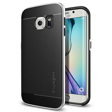Spigen Case Neo Hybrid Satin Silver Samsung Galaxy S6 Edge Funda protectora para Samsung Galaxy S6 Edge