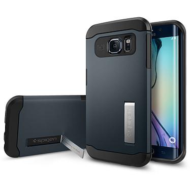Spigen Case Slim Armor Metal Slate Samsung Galaxy S6 Edge Funda protectora para Samsung Galaxy S6 Edge