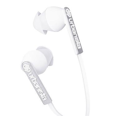 Urbanista Ibiza Blanc  Écouteurs intra-auriculaires avec télécommande et micro intégrés
