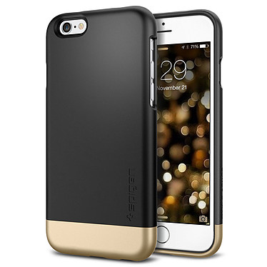Spigen Case Style Armor Noir Apple iPhone 6/6s Coque de protection pour Apple iPhone 6/6s