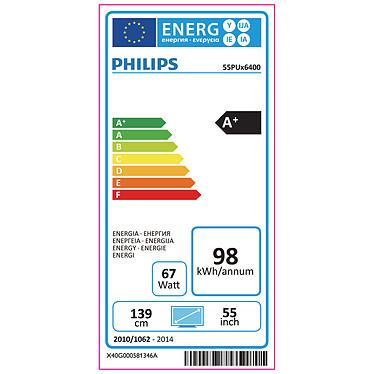 Philips 55PUH6400 pas cher