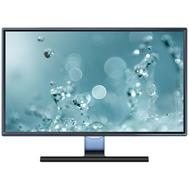 """Samsung 23.6"""" LED - S24E390HL 1920 x 1080 pixels - 4 ms (gris à gris) - Format large 16/9 - Dalle PLS - HDMI - Bleu/Noir (garantie constructeur 3 ans)"""