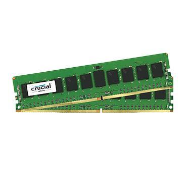 Crucial DDR4 16 Go (2 x 8 Go) 2400 MHz CL17 ECC SR X8 Kit Dual Channel RAM DDR4 PC4-19200 - CT2K8G4WFS824A (garantie 10 ans par Crucial)
