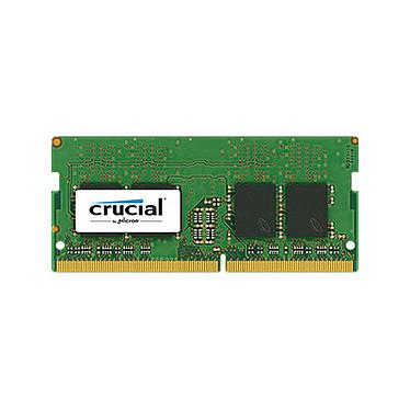 Crucial SO-DIMM DDR4 8 GB 2400 MHz CL17 DR X8 RAM DDR4 PC4-19200 - CT8G4SFD824A (10 años de garantía de Crucial)