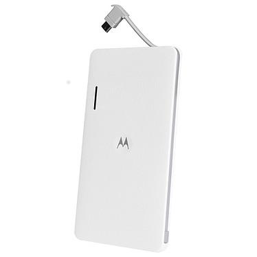 Motorola P4000 Blanc Batterie externe universelle ultra slim 4000 mAh pour smartphones et tablettes