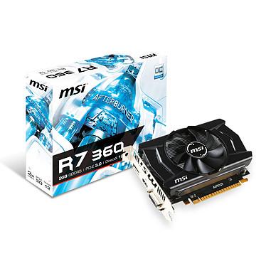 MSI Radeon R7 360 2GD5 OC 2 Go DVI/HDMI/DisplayPort - PCI Express (AMD Radeon R7 360)