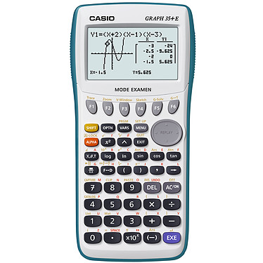 Casio Graph 35+E Calculadora gráfica para la escuela secundaria (todas las secciones combinadas)
