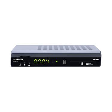TELEFUNKEN TDSC 340 BU Récepteur TNT satellite HDTV 1080p avec HDMI et USB