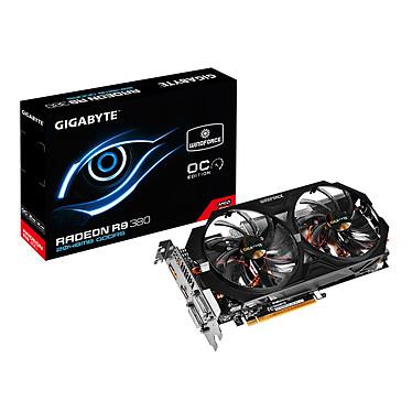 Gigabyte Radeon R9 380 GV-R938WF2OC-2GD 2 Go Dual DVI/HDMI/DisplayPort - PCI Express (AMD Radeon R9 380)