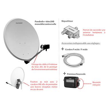 Telefunken Pack P3 T-SAH801TV pas cher