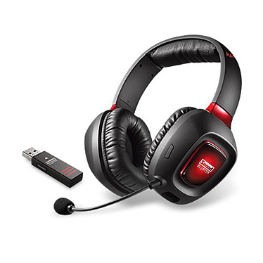 Creative Sound Blaster Tactic3D Rage Wireless V2.0 Casque-micro sans fil pour gamer (compatible PC / PlayStation 4)