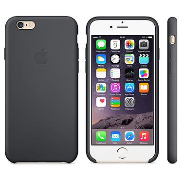 Apple Coque en silicone Noir iPhone 6 Coque en silicone pour Apple iPhone 6