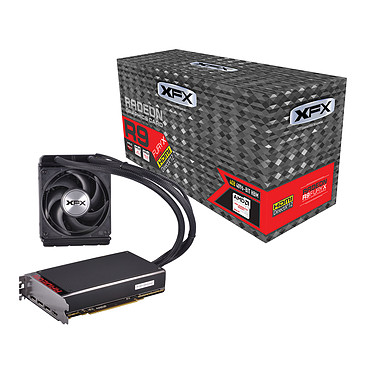 XFX Radeon R9 Fury X R9-FURY-4QFA 4 Go HDMI/Tri DisplayPort - PCI Express (AMD Radeon R9 Fury X)