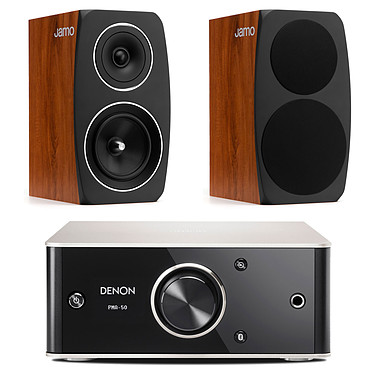 Denon PMA-50 + Jamo C93 Dark Apple