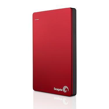 """Seagate Backup Plus Slim 2 To Rouge (USB 3.0) Disque dur portable 2.5"""" USB 3.0 avec sauvegarde automatique sur réseaux sociaux"""