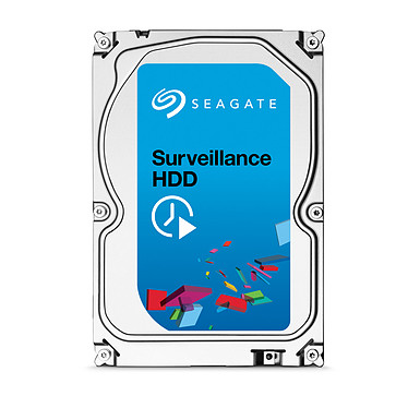 Seagate Surveillance HDD 4 To (+Rescue)