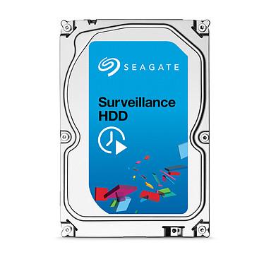 "Seagate Surveillance HDD 4 To (+Rescue) Disque dur 3.5"" 4 To 5700 RPM 64 Mo Serial ATA 6 Gb/s pour NAS vidéosurveillance"