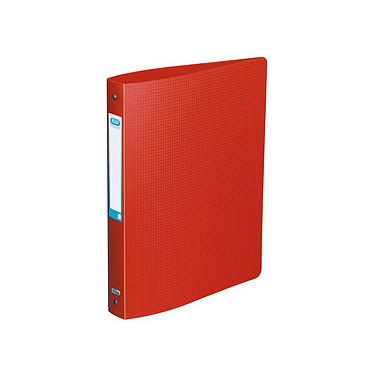 Elba Classeur Memphis 4 Anneaux Dos 40 mm Rouge Classeur souple 4 anneaux dos 40 mm en polypropylène 10/10e opaque rouge