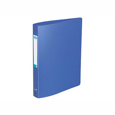 Elba Classeur Memphis 4 Anneaux Dos 40 mm Bleu Classeur souple 4 anneaux dos 40 mm en polypropylène 10/10e opaque bleu