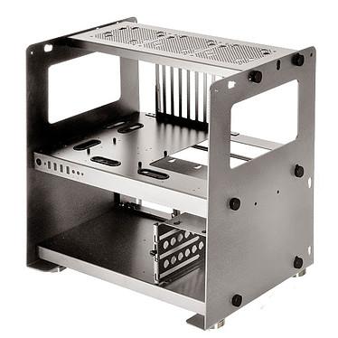 Lian Li PC-T80 Boitier pour test benchmarks en aluminium (coloris argent)