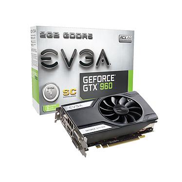 EVGA GeForce GTX 960 Superclocked 2048 Mo Dual DVI/HDMI/DisplayPort - PCI Express (NVIDIA GeForce avec CUDA GTX 960)