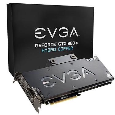EVGA GeForce GTX 980 Ti Hydro Copper 6144 Mo DVI/HDMI/Tri DisplayPort - PCI Express (NVIDIA GeForce avec CUDA GTX 980 Ti)