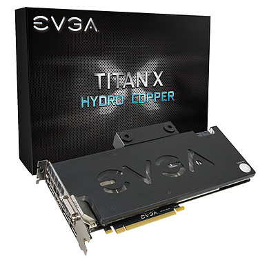 EVGA GeForce GTX TITAN X Hydro Copper