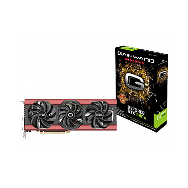 Gainward GeForce GTX 980 Ti PHOENIX Golden Sample 6144 Mo DVI/HDMI/Tri DisplayPort - PCI Express (NVIDIA GeForce avec CUDA GTX 980 Ti)