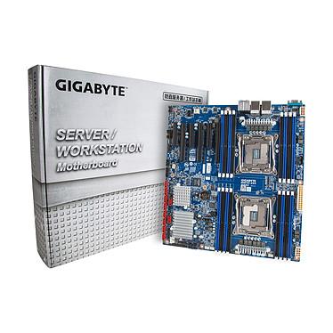 Gigabyte MW70-3S0 Carte mère E-ATX 2x Socket 2011-3 Intel C612 - SAS - SATA 6Gb/s - 3x PCI Express 3.0 16x - 2x Gigabit LAN