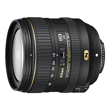 Nikon AF-S DX NIKKOR 16-80mm f/2.8-4E ED VR Objectif transtandard zoom 5x au format DX
