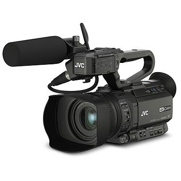 JVC GY-HM200E Caméscope 4K Ultra HD avec zoom optique 12x, HDMI et HD-SDI