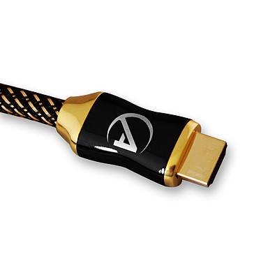 AlienCable SunriseSeries (1 m) Câble HDMI 2.0 hautes performances compatible 3D et Full HD (1080p)