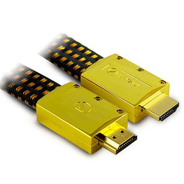 Aliencable ExtremeSeries (2 m) Câble HDMI 2.0 à hautes performance compatible 3D, Full HD (1080p) et UltraHD 4K (2160p)